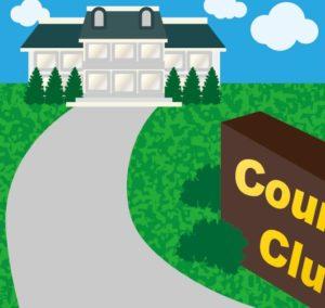 ★ゴルフシューズでの入場はやめましょう・・・