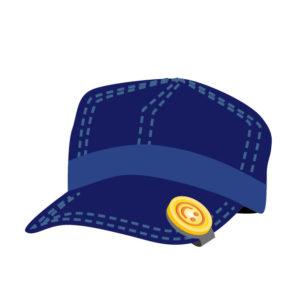 ★★★ プレー中はなるべく帽子を被ろう